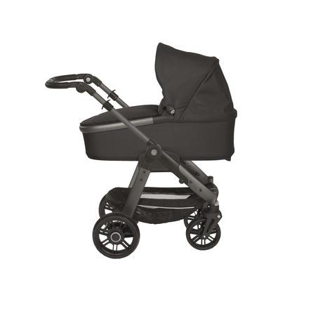 TEUTONIA Kinderwagen Cosmo V4 Graphite Rad 7R Design 6005/6090 inkl. Gestelltragetasche