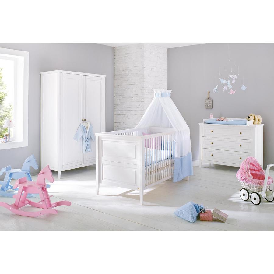 Pinolino Cameretta neonato con armadio a 2 ante Smilla, largo
