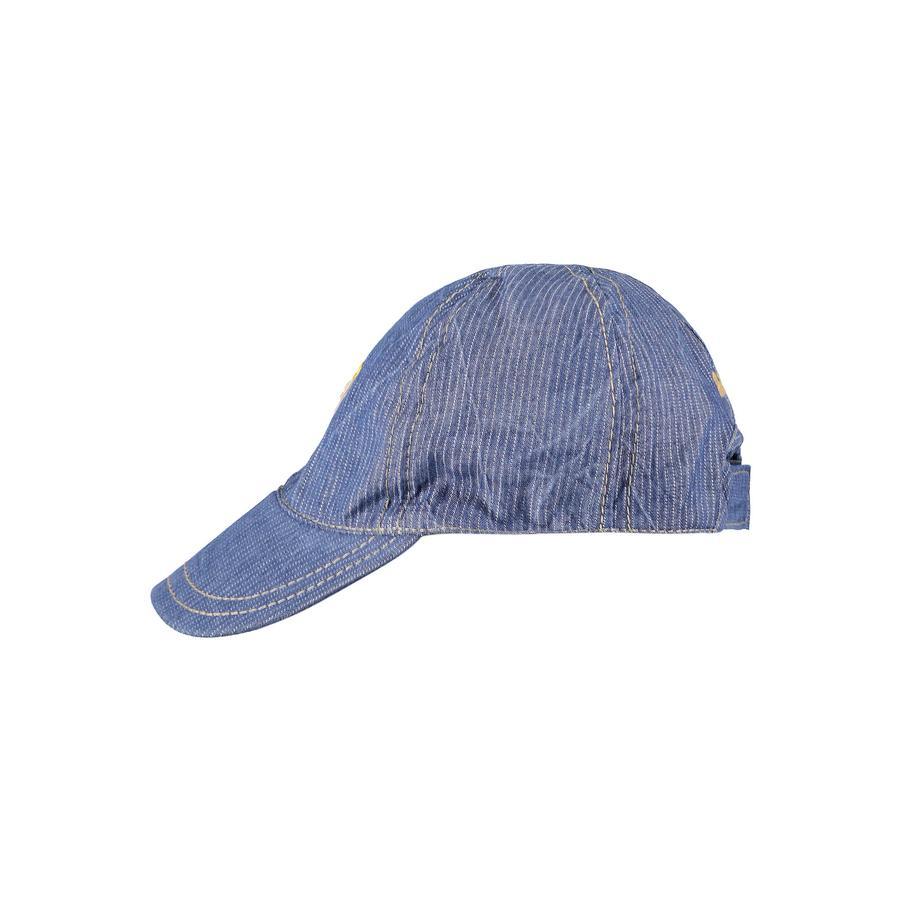 STEIFF Jeans Kappe blue denim