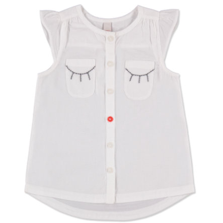 ESPRIT Girls Bluse white