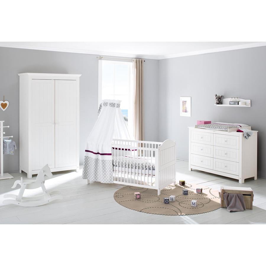 Pinolino Børneværelse Nina ekstrabred 2-døre