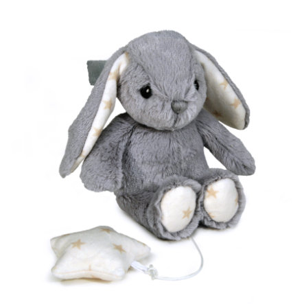 CLOUD B Lapin Musical Plushies, gris 7102-BUG