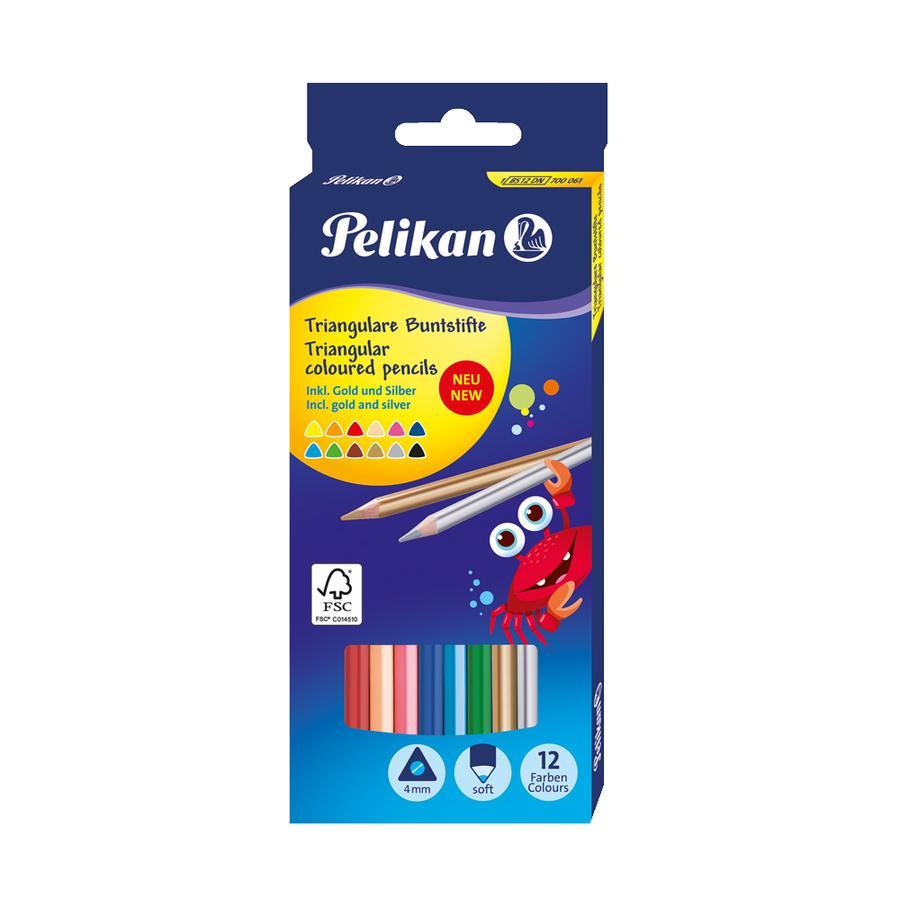 PELIKAN Färgpennor BS12DN, 12 Stk.