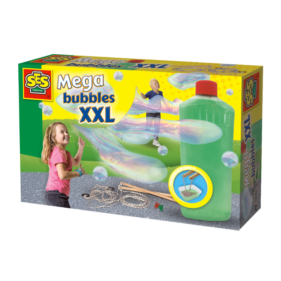 SES Creative® Giant bubble set - Mega bubble s XXL