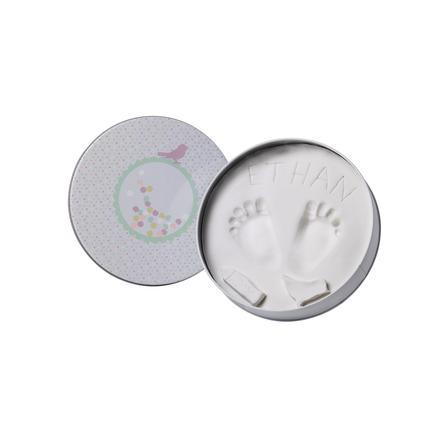Baby Art Gipsabdruck Set Dose - Magic Box, rund, Confetti