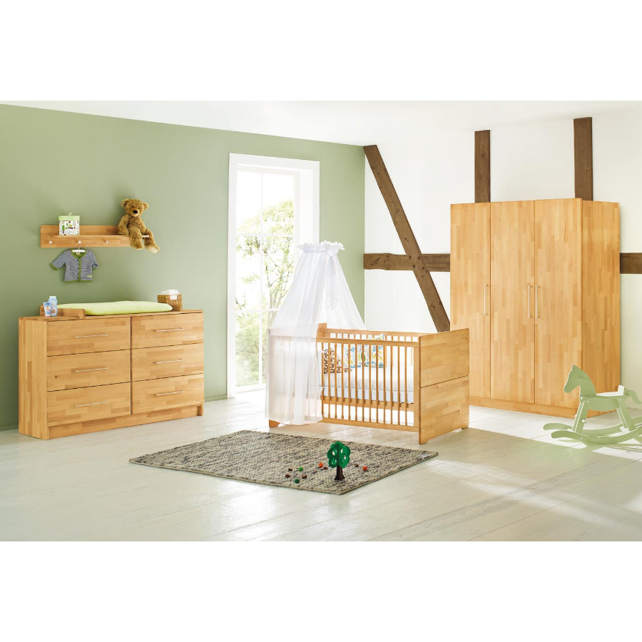 Pinolino Habitación infantil Natura extra ancho 3 puertas