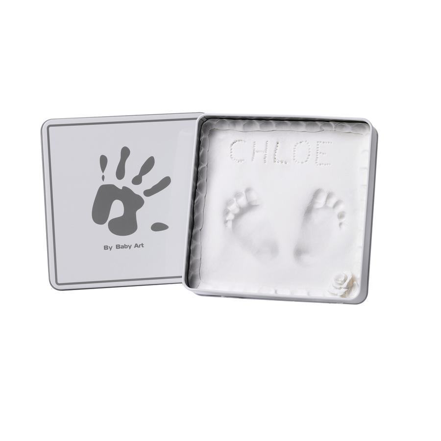 BABY ART Gipsafdruk Set- Magic Box, Hoekig, White