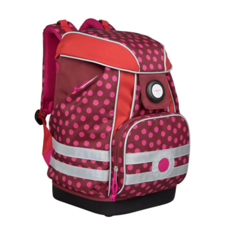 Lässig 4Kids Ryggsäck School Set Dottie red