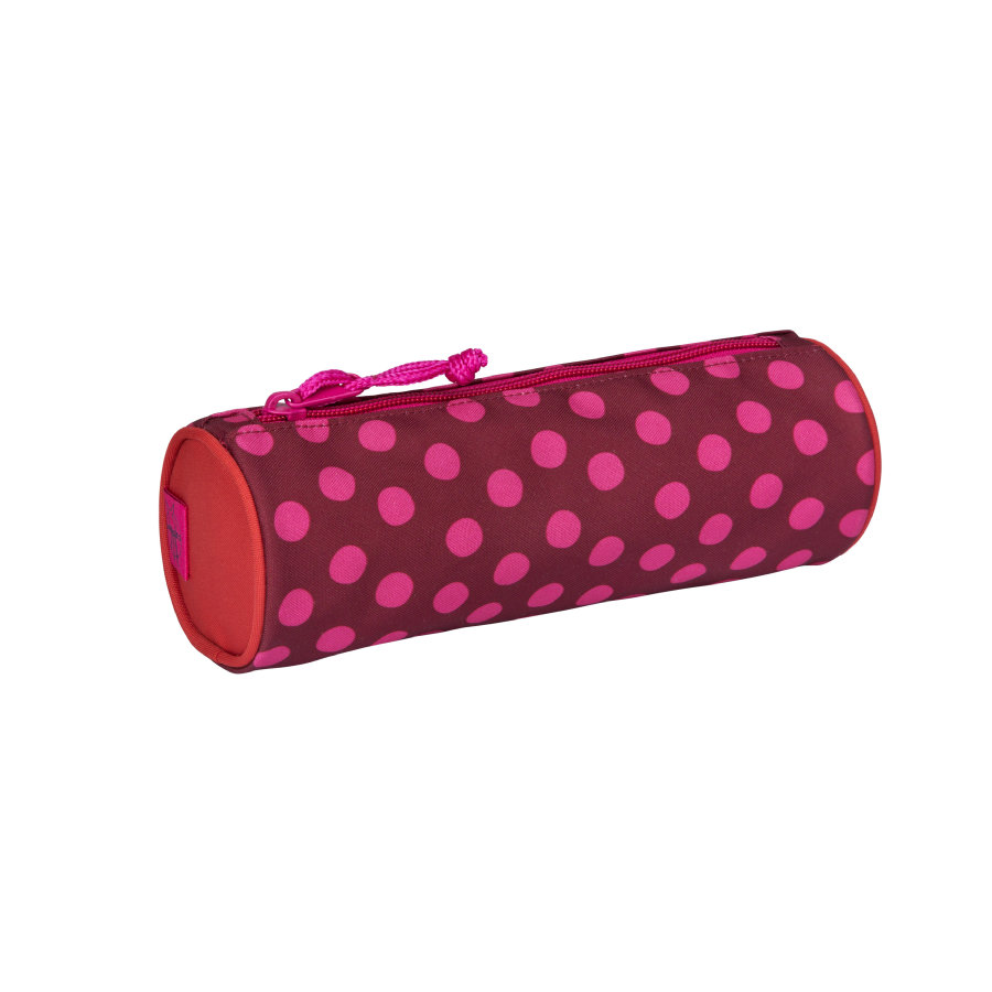 Lässig 4Kids School Pencil Case - Dottie red