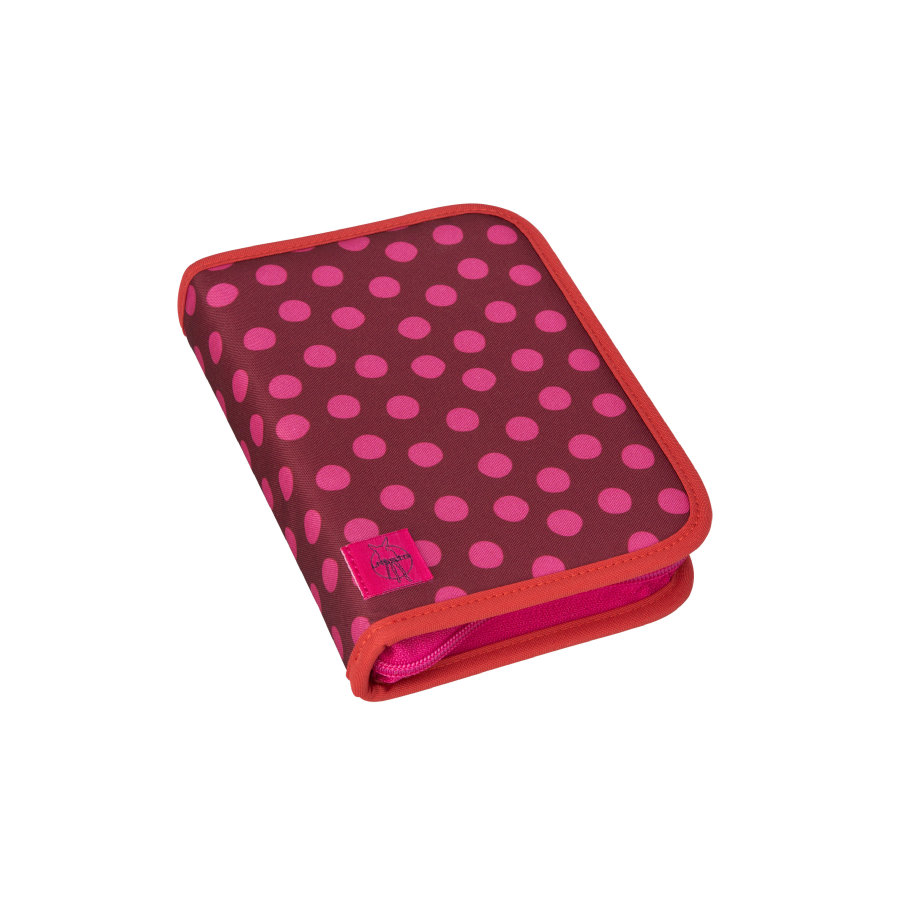 Lässig 4Kids School Pencil Case Big - Dottie red