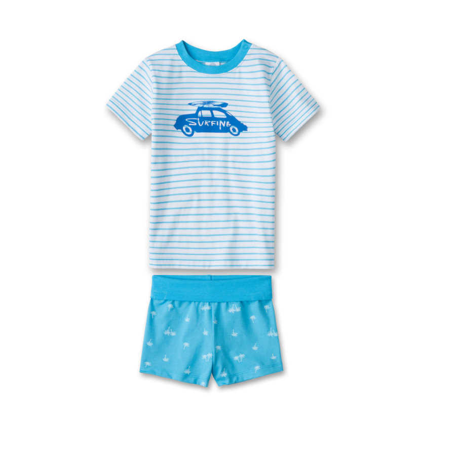 SANETTA Boys Shorty 2-teilig malibu blue