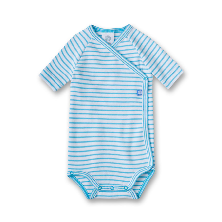 SANETTA Boys Wickelbody 1/4 Arm malibu blue