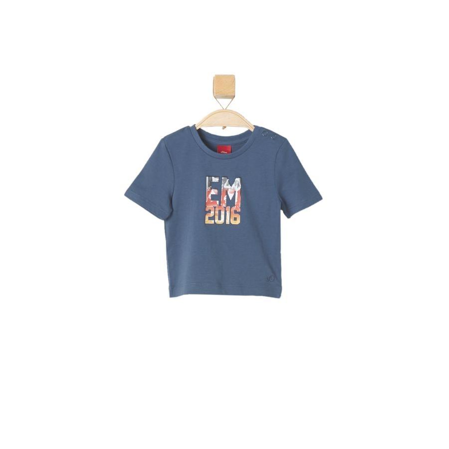 s.OLIVER Boys T-Shirt bleu océan