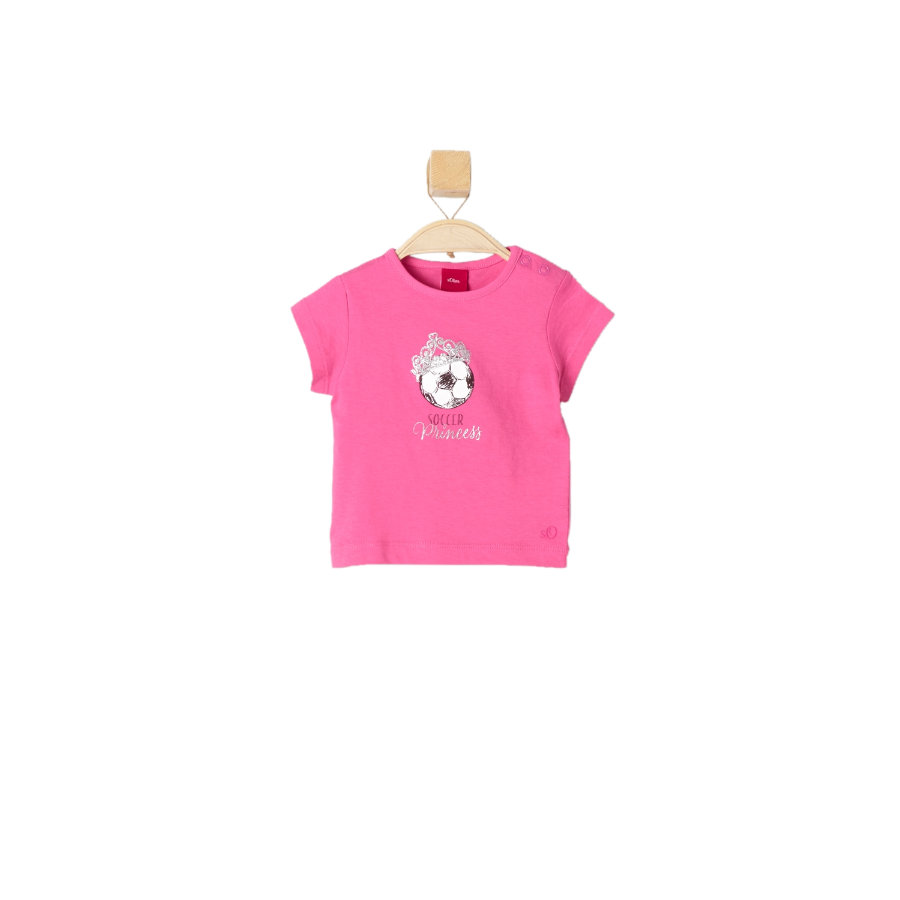 s.OLIVER Girls Mini T-Shirt pink