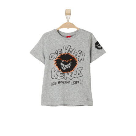s.OLIVER Boys T-Shirt grey melange