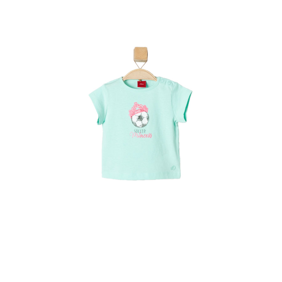 s.OLIVER Boys T-Shirt blue green