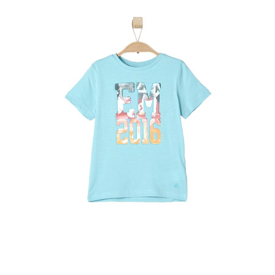 s.OLIVER Boys T-Shirt azul noche