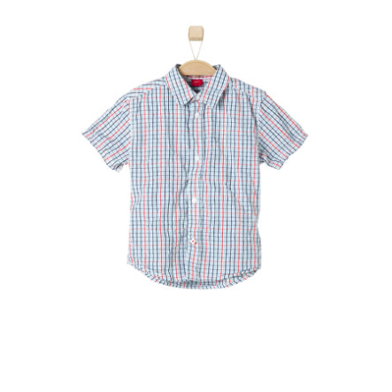 s.OLIVER Boys Hemd blue/red check