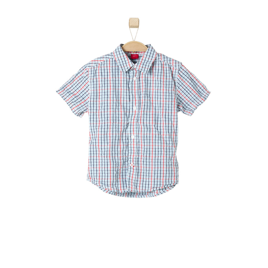 s.OLIVER Boys Košile blue/red check