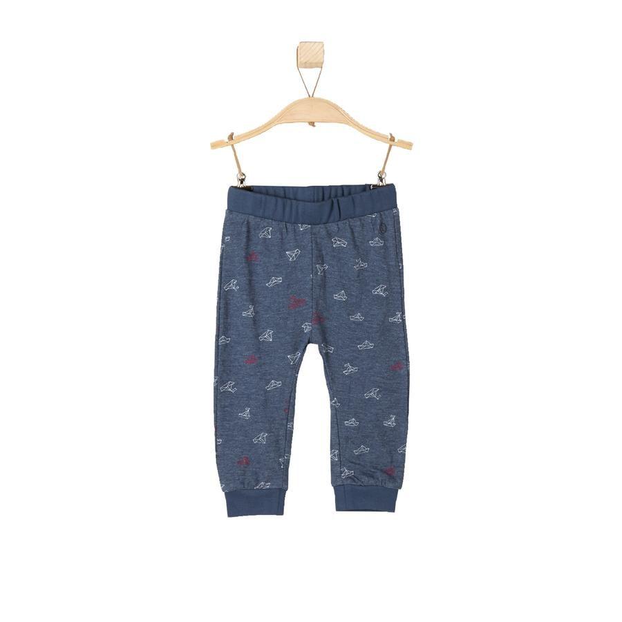 s.OLIVER Boys Baby Pantalone Tuta blue