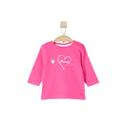 s.OLIVER Girls Baby Maglia a manica lunga pink