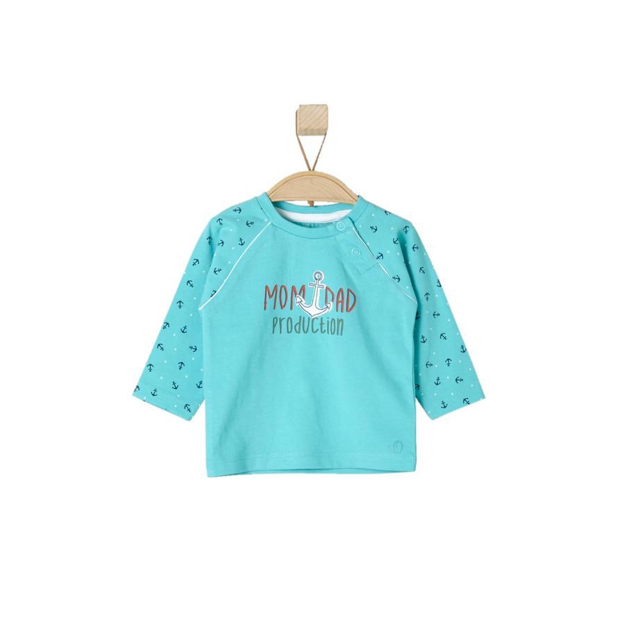 s.OLIVER Boys Longsleeve turquoise