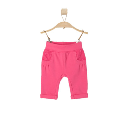 s.OLIVER Girls Baby Pantalone pink