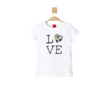s.OLIVER Girls Mini T-Shirt white