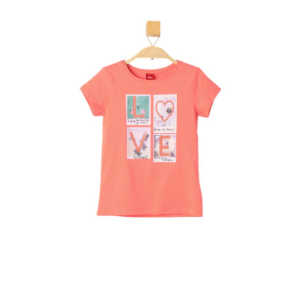 s.OLIVER Girls T-Shirt orange