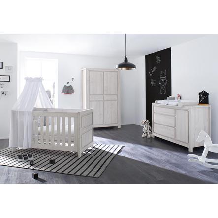 Pinolino Chambre d'enfant Line, armoire 4 portes