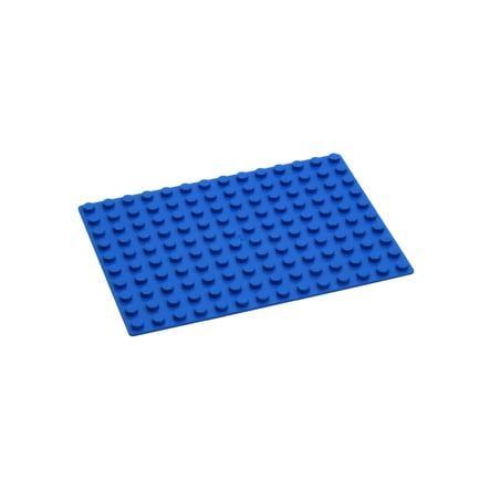 HUBELINO® Plateau de base, 140 briques, bleu