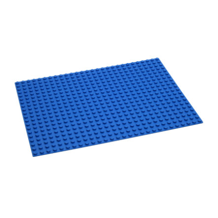 HUBELINO Byggplatta - 560 blå