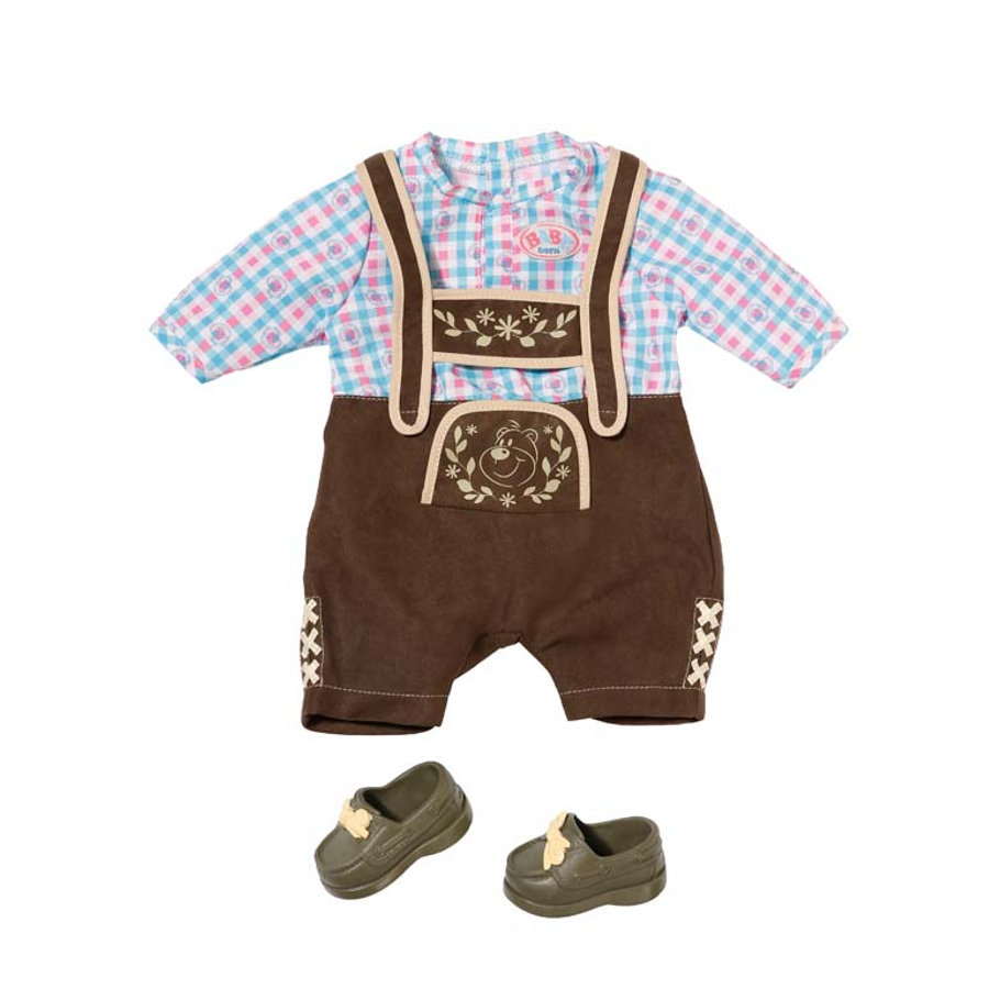 Zapf Creation Baby born® - Trachten-Outfit Junge