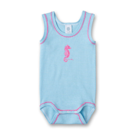 SANETTA Girls Romper light blue