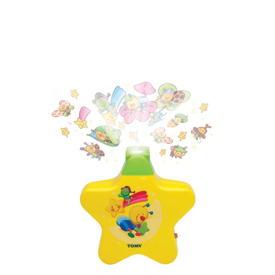 TOMY Babyprojector Sterrendroom geel