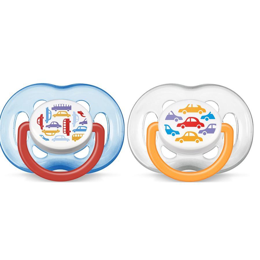 Philips Avent Schnuller SCF172/22 Freeflow 6-18 Monate Jungen 2 Stück