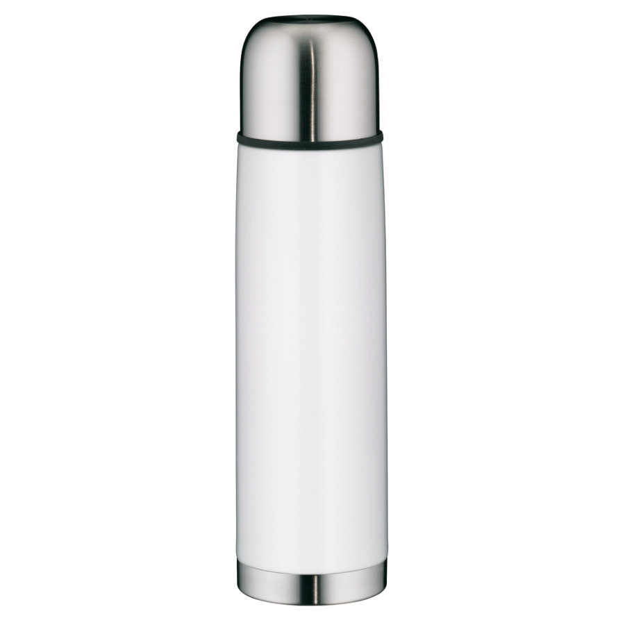 alfi Isolierflasche isoTherm Eco II, Edelstahl weiß 0,75l