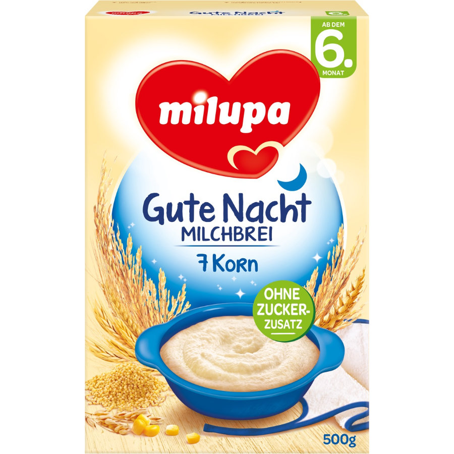 Milupa Milk Mash Evening Mash 7-Grain 500g