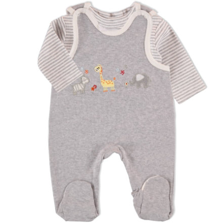 EDITION4BABYS Interlock Stramplerset grau