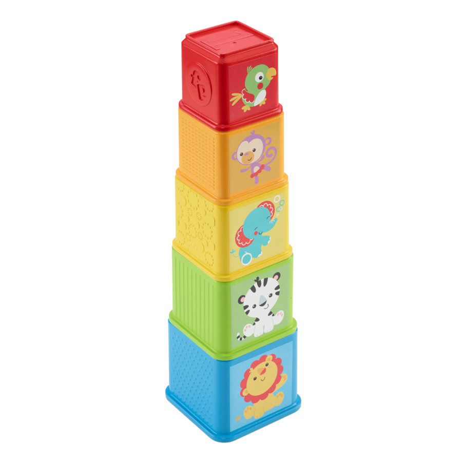 FISHER PRICE Bunte Stapelwürfel