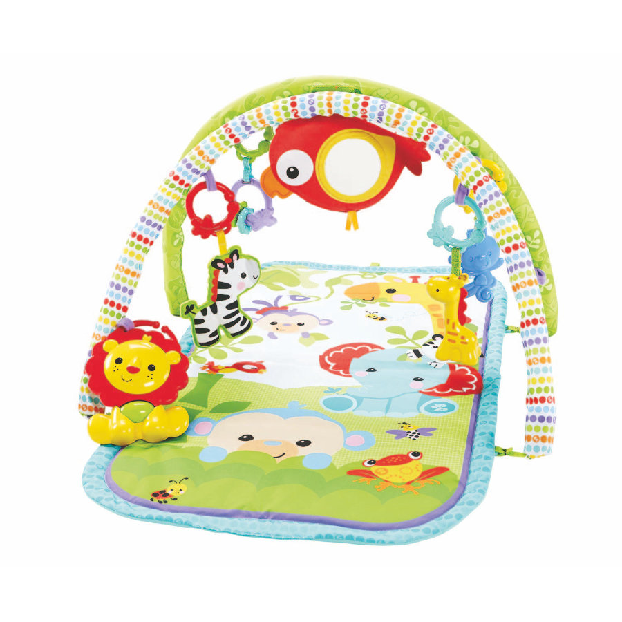 FISHER PRICE Tapis Amis de la jungle 3 en 1
