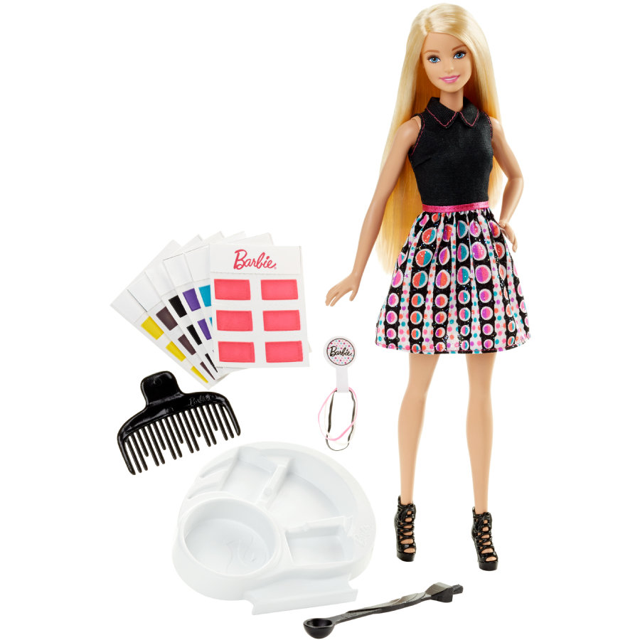MATTEL Barbie Fab Life Beauty and Hairplay - Barbiedocka