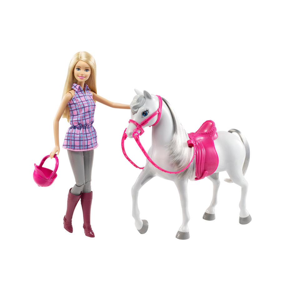 MATTEL Barbie - Barbie et son cheval