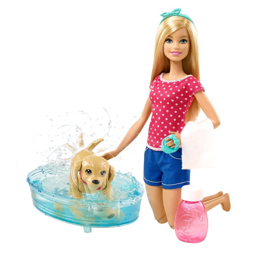 MATTEL Barbie my fab pets - Barbie Hundbad