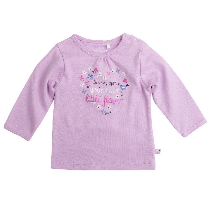 STACCATO Girls Baby Shirt flieder
