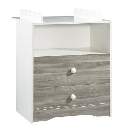 SAUTHON Commode 2 tiroirs LOULOU, avec dispositif à langer