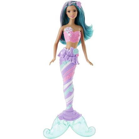 MATTEL Barbie 4 Royaumes - Sirène multicolore bonbons