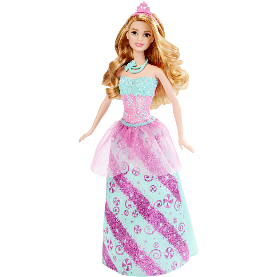 MATTEL Barbie 4 Royaumes - Princesse multicolore bonbons