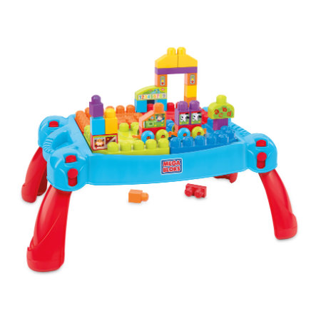 MATTEL Mega Bloks - La table 3 en 1