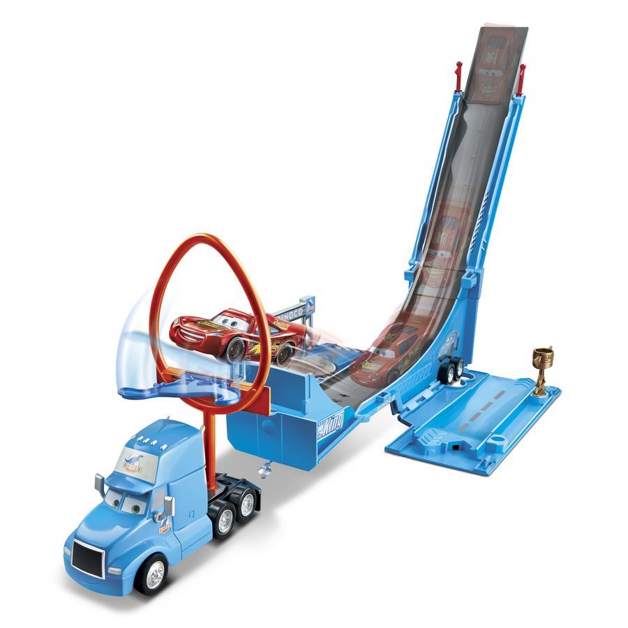 MATTEL Disney Pixar Bilar - Lastbil med stuntbana